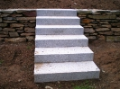Mauerbau und Treppen